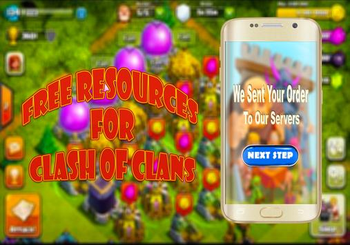 💯Unlimited Gems For Clash OF Clans -Joke apk screenshot
