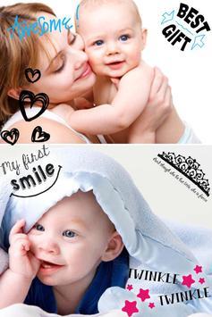 Baby Pics Photo Editor screenshot 3