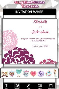 Invitation Card Maker : Flyer Creator screenshot 1