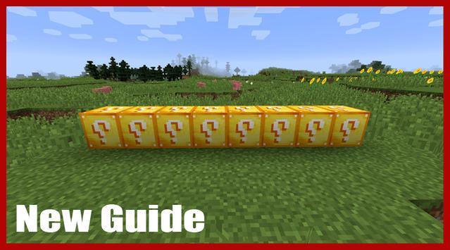Lucky Block mod for MCPE : new screenshot 1
