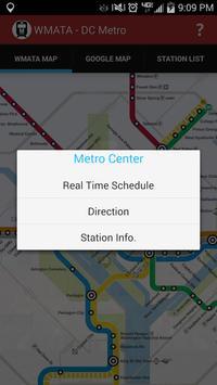 WMATA - DC Metro screenshot 1