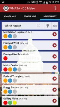 WMATA - DC Metro screenshot 4