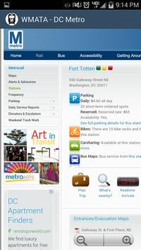 WMATA - DC Metro screenshot 6