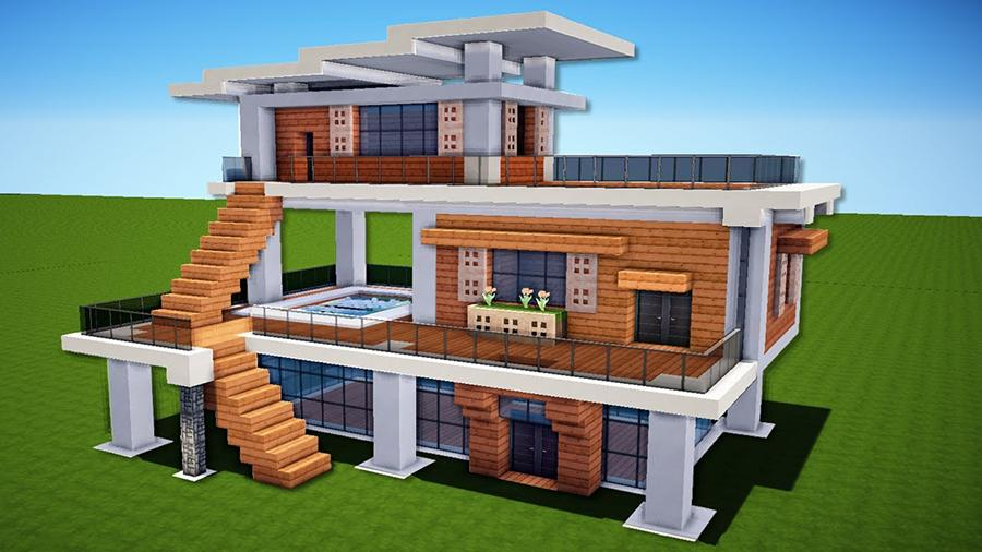 Modern Houses For Minecraft For Android Apk Download