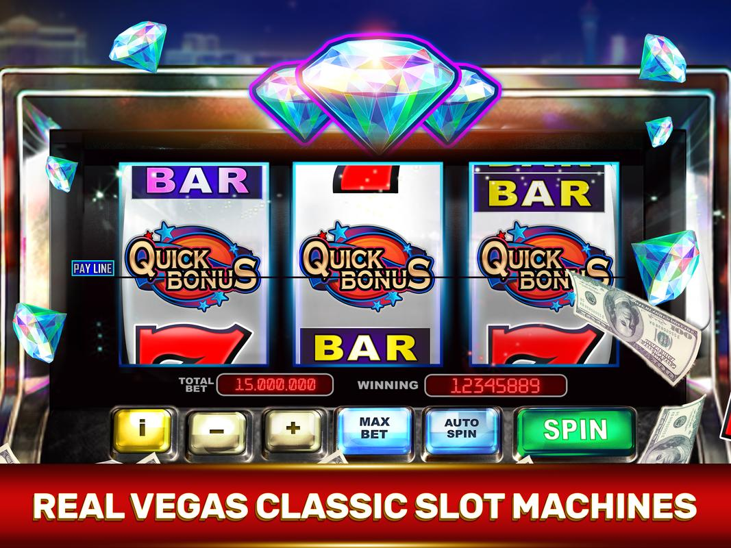 Slot machines casino games