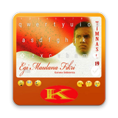 Keyboard Themes Emoji For Egi Maulana Fikri Fans icon