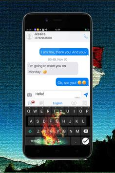 Keyboard Themes Emoji For Egi Maulana Fikri Fans apk screenshot