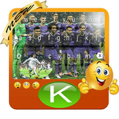 Keyboard Themes Emoji For Real Madrid Fans icon