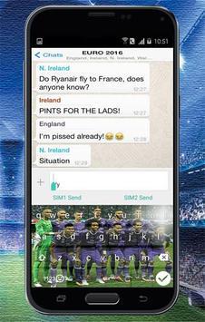 Keyboard Themes Emoji For Real Madrid Fans screenshot 4