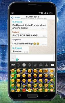 Keyboard Themes Emoji For Real Madrid Fans screenshot 6