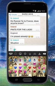 Keyboard Themes Emoji For Real Madrid Fans screenshot 7