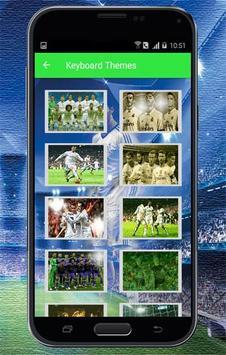 Keyboard Themes Emoji For Real Madrid Fans screenshot 3