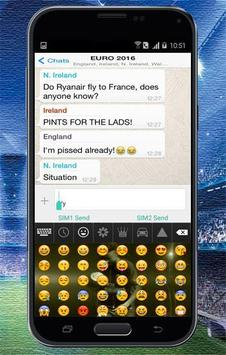 Keyboard Themes Emoji For Neymar Jr Fans screenshot 4