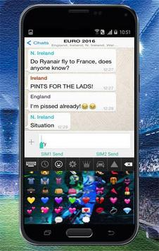 Keyboard Themes Emoji For Neymar Jr Fans screenshot 5