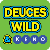 Deuces Wild Poker and Keno icon