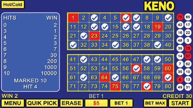 Deuces Wild Poker and Keno screenshot 2