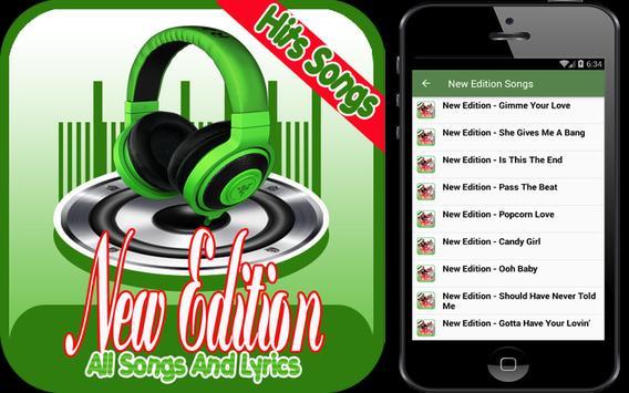 New Edition Greatest Hits apk screenshot