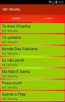 Te Amo Piranha - Para Fan MC Mirella e MC Bella screenshot 1