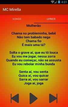 Te Amo Piranha - Para Fan MC Mirella e MC Bella screenshot 2