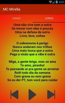 Te Amo Piranha - Para Fan MC Mirella e MC Bella screenshot 3