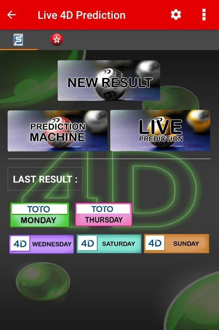 Live 4D Prediction for Android - APK Download