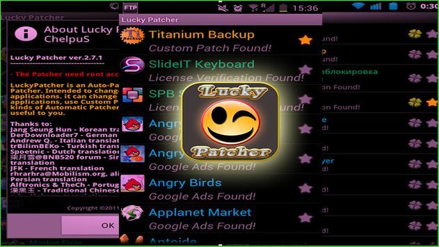 Lucky Patcher Root Pro apk screenshot