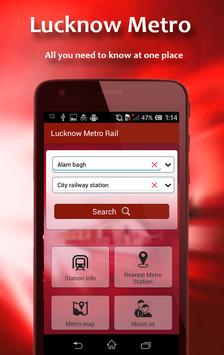 Guide for Lucknow Metro Routes screenshot 1