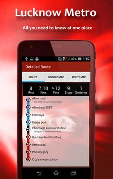 Guide for Lucknow Metro Routes screenshot 3