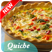 Quiche Recipe App 2017 icon