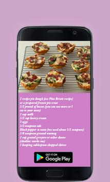 Quiche Recipe App 2017 screenshot 2