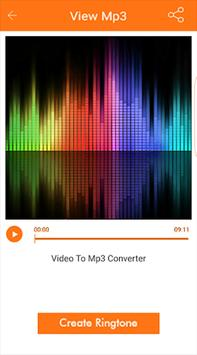 Converter Video to MP3 apk screenshot
