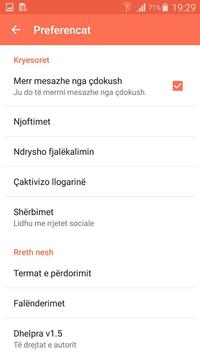 Dhelpra — rrjeti social anonim screenshot 3