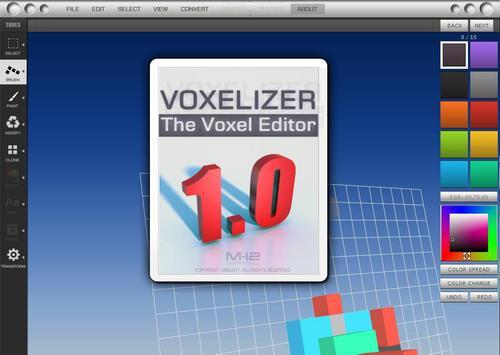 Voxelizer apk screenshot