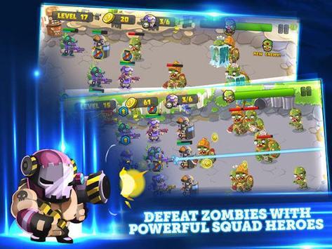 Super Zombie Defense TD poster