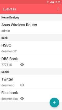 LuaPass screenshot 1