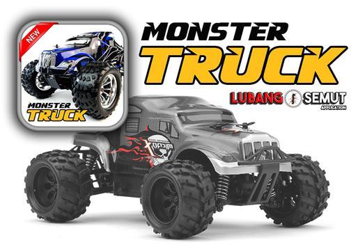 MONSTER TRUCK WALLPAPER poster