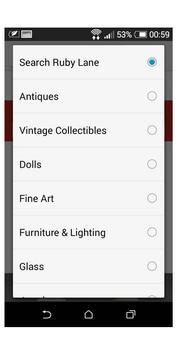 Ruby Lane : Antiques & Art screenshot 1