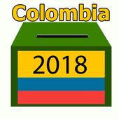 Lugar de votación 2018 Colombia icon