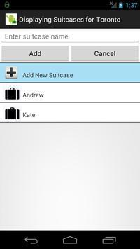 Luggage & Suitcase Checklist screenshot 1