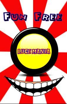 LugeMania Button poster