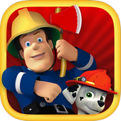 Super FireMan Hero Sam : Red Truck Rescue Missions icon