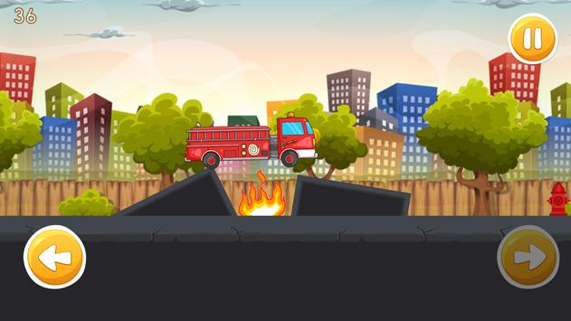 Super FireMan Hero Sam : Red Truck Rescue Missions screenshot 4