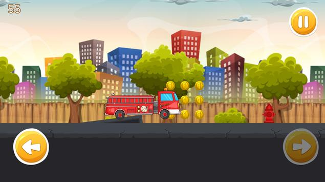Super FireMan Hero Sam : Red Truck Rescue Missions screenshot 3