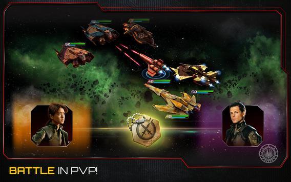 Battlestar Galactica:Squadrons screenshot 11
