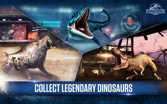 Jurassic World™: The Game APK-screenhot
