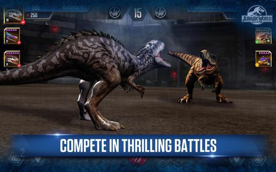 Jurassic World™: The Game apk screenshot