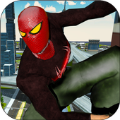Spider Real Flying Rescue Mission - Superhero Game icon