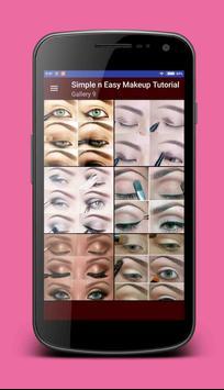 Simple & Easy Makeup Tutorial apk screenshot