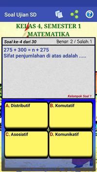 Soal Ujian SD screenshot 4