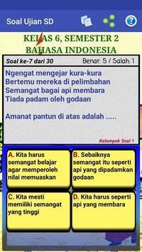 Soal Ujian SD screenshot 6
